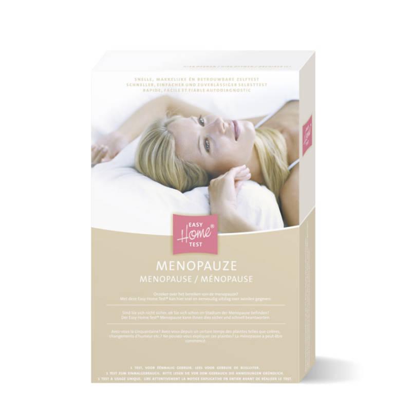 Afbeelding productverpakking menopauze test
